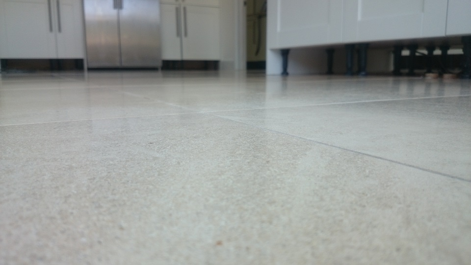 Cleaned and Polished Limestone in Banstead, Surrey