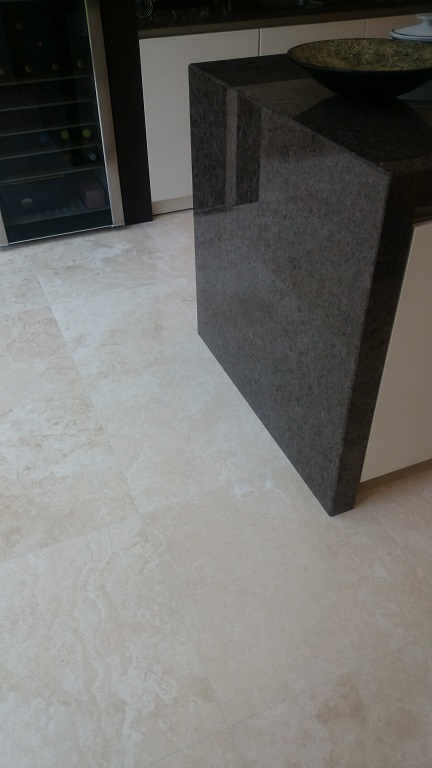 Travertine Floor Cleaning Polishing Surrey