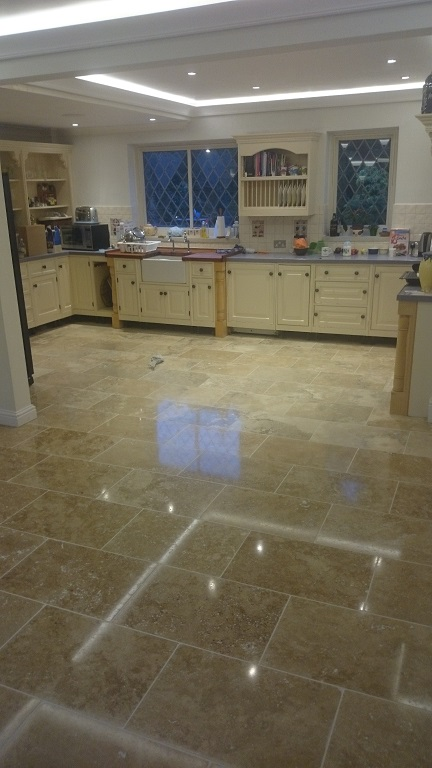 Travertine Floor Cleaning Surrey and Kent